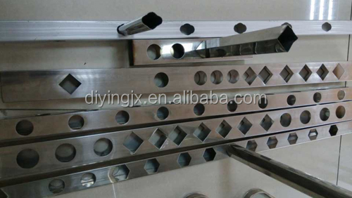 Best quality Die Steel Pipe punching machine/Tube punching machine/Eyelet punching machine