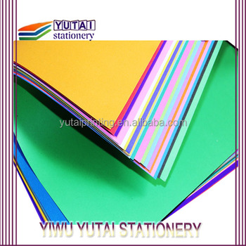 professional color paper in factory paper for sale