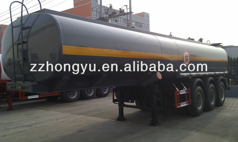 35000L-60000L fuel tanker trailer for sale
