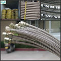 "1/4"" 6' long stainless steel wire braid air conditioning hoses with fitting"