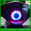 evil eye lens projector headlight for motorcycles and car headlight