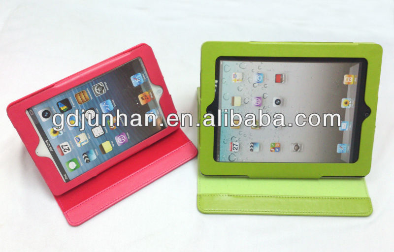 2013 New Arrival High Quality Leather Protect Case For Ipad 2/3/4