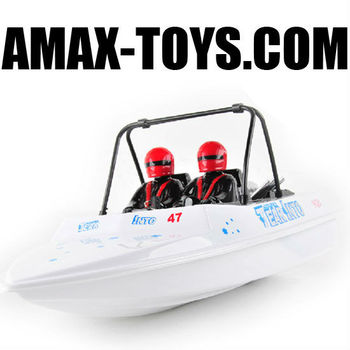 rs-0806024 1:25 rc boat emulational high speed remote control speed boat