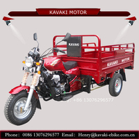 Canton manufacture factory product three wheeler 200cc 250cc two seats adult cargo tricycle for sale