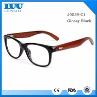 Factory Directly Provide Eyeglasses High Quality Fashion Wooden Design Sample Eyeglass Frame