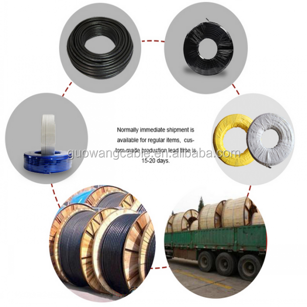 IEC standard Welding Cable single core 70mm2 95mm2 Flexible Copper/CCA Rubber Insulation Electric Welding Cable