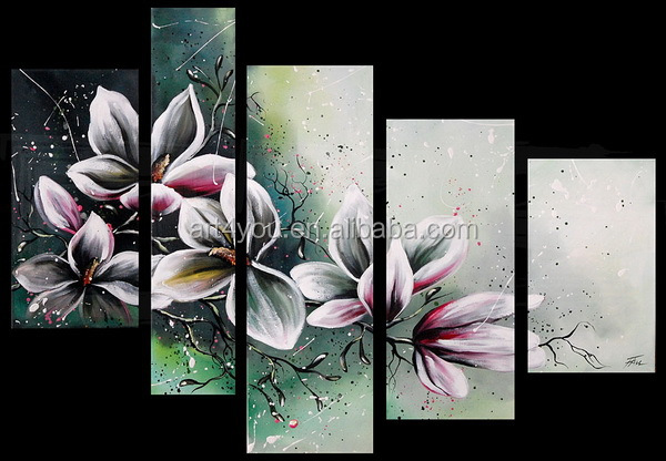 Handpaint Group Canvas Painting Wholesale 41458