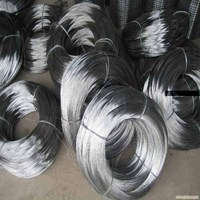 20G galvanized wire 1 kg Coil plastic wrapped 10 Coil wrapped in Hessian Cloth