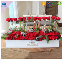 China factory promotion plastic flower box liners iron window box for wpc flower box