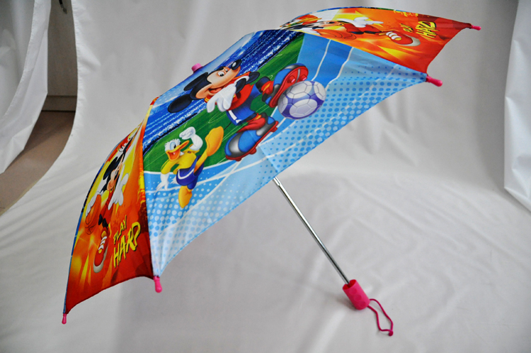 2 Folding Umbrella Kids With Printing