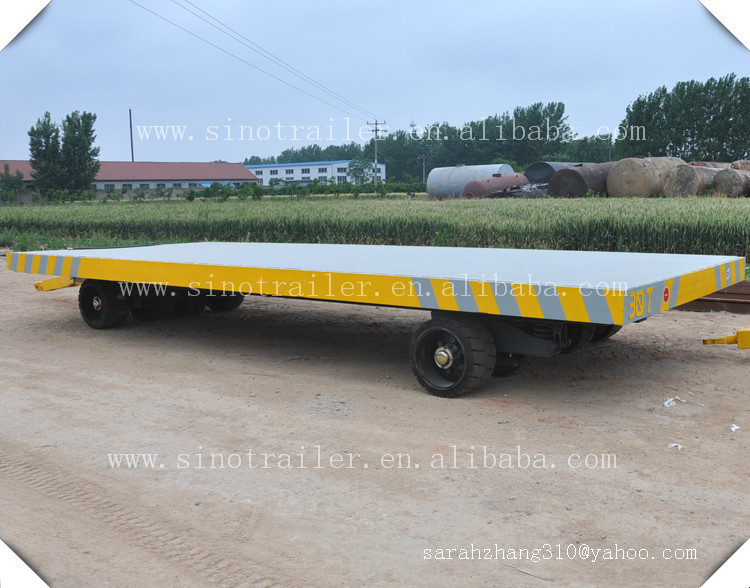 low bed platform 30 ton trailer