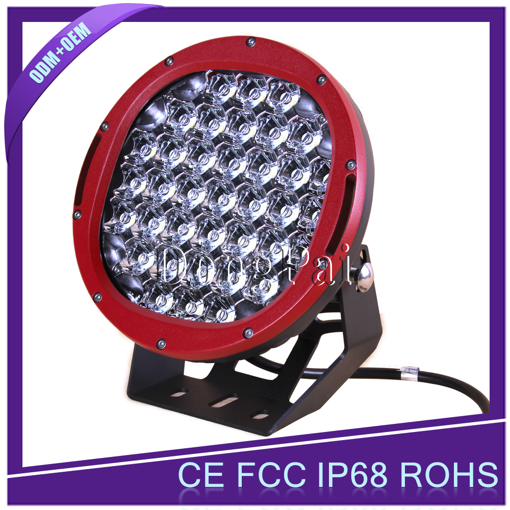 "High Power 9"" automotive LED Driving Light 185w Round LED Spotlight 4x4 LED led 4x4 spotlights Driving Light"