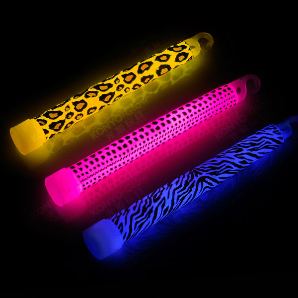 animal stripes imprint glow stick