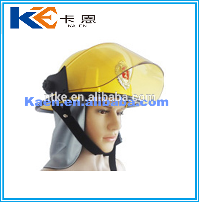 Hot Sell person protection equipment fire helmet high quality