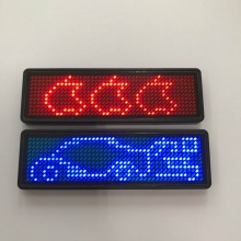 Programmable LED Signs Digital LED Badge