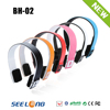 Fashionable and latest bh-02 bluetooth stereo headset for all mobiles