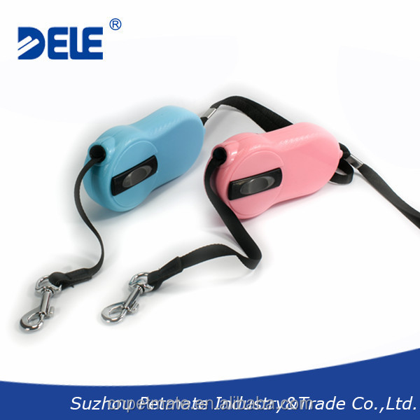 Mini and unique dog products retractable dog leash dog lead