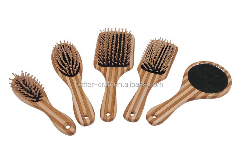 Eco Natural Bamboo Hair Brush Comb Buy Hair Brush Bamboo