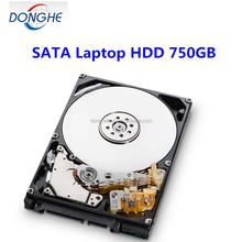Discount wholesaling 750 GB refurbished laptop HDD 2.5inch hard drive for laptop