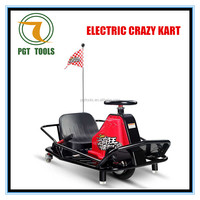 A Hot sale crazy kart electrical vehicle cart go kart