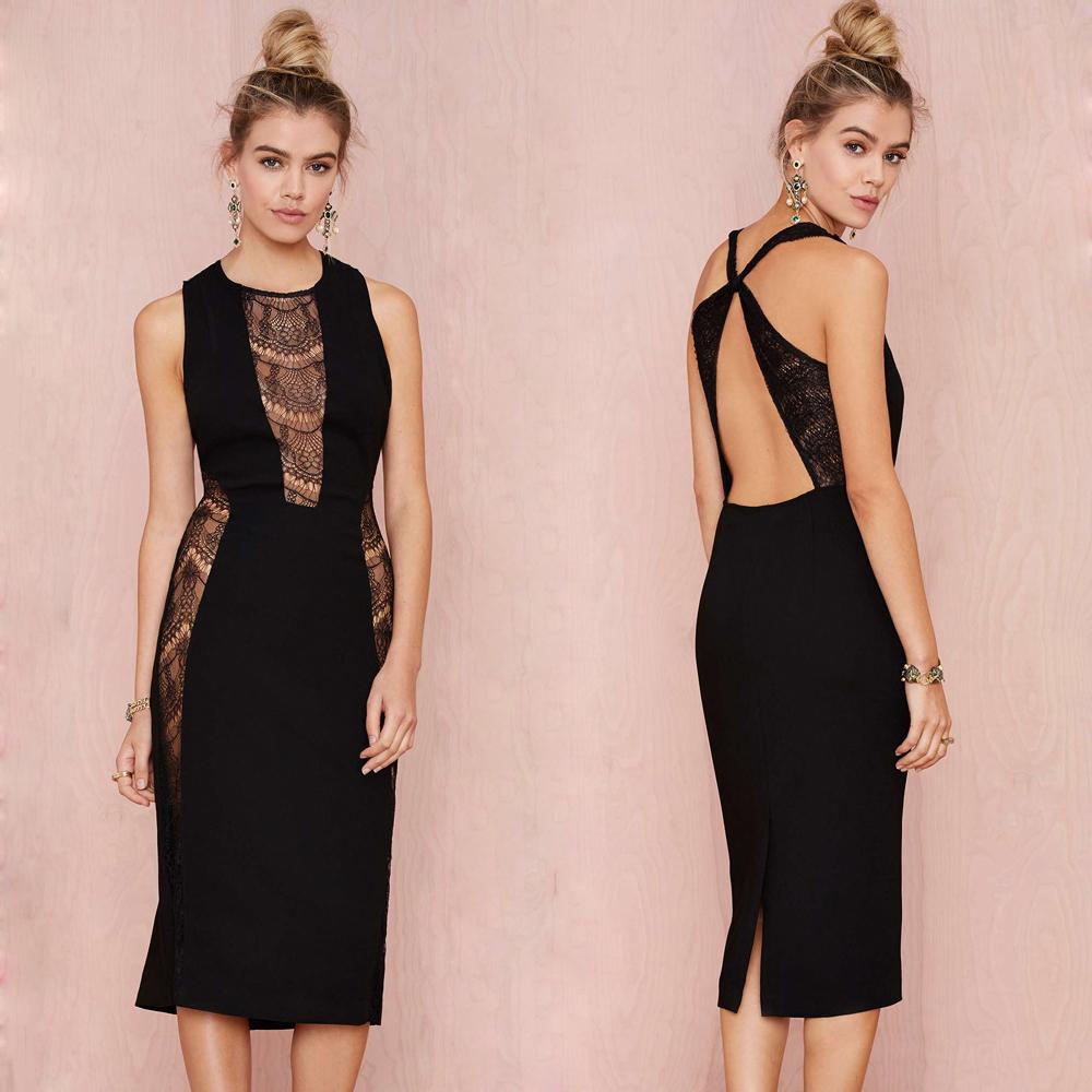 2015 hot sale strap black sexy simple dress wholesale turkish women clothes brands