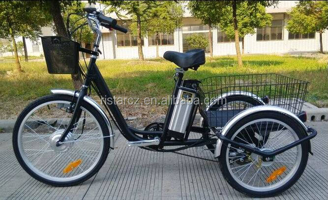 350W 3 Wheel electric bike/ electric bicycle/ electric tricycle from China