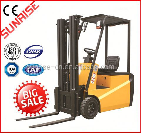 Light weight 3 Wheels Mini Electric Forklift With CE certificate