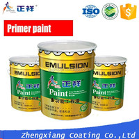 ZXPAINT removable acrylic exterior interior wall primer paint