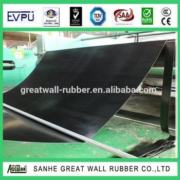 1-100mm Low temperature resistance NBR rubber sheet