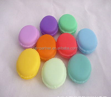 High quanlity 10g Macaron colorful lip balm tubes ball containers for cosmetic