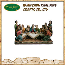 Polyresin Religioud Item, Polyresin The Last Supper For Christmas