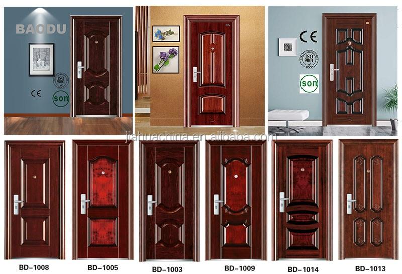 Security Steel French Doors Exterior With New Type Buy New Design Security Steel Door Made