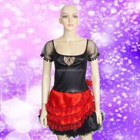 WC-0048 Party Carnival sexy women halloween Spanish Dance costume dress