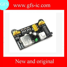 Black bread board dedicated power supply module is compatible with 5 V, 3.3 V shenzhen electronics
