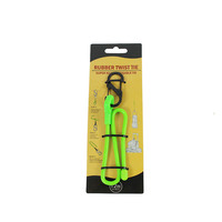 Clip Gear Ties Reusable Twist RUBBER Tie Beam Port Bundled Cord Management Wire Cable Zip Home Storage