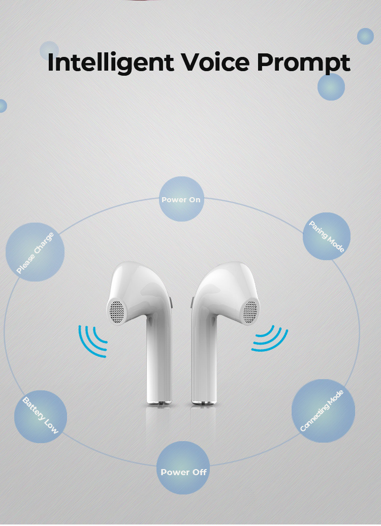 TWS Headphones x10 with Charging Case BT V5.0 Built-in Mic in-Ear Noise Cancelling Sport Earphones