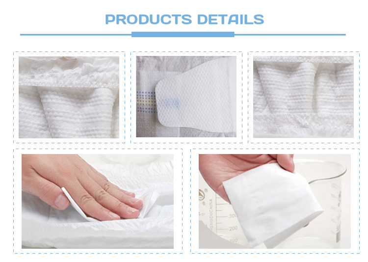Premium quality magic tape diapers disposable grade baby diaper