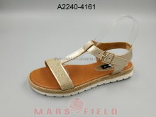 Latest fashion Euramerican design PU hemp rope sandal for women
