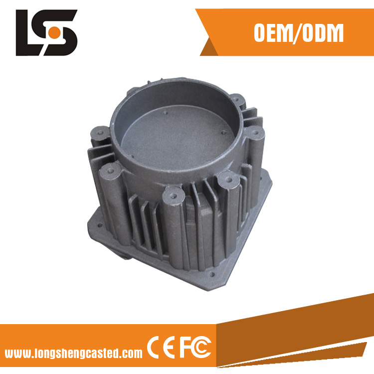 LED street light housing Aluminium Die Casting products for industrial