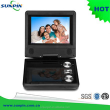 2016 Portable Television DVD Player with Digital TV Turner