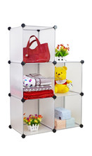 New Style DIY Plastic Bedroom Cube Storage Cabinet for family(YK-1014)