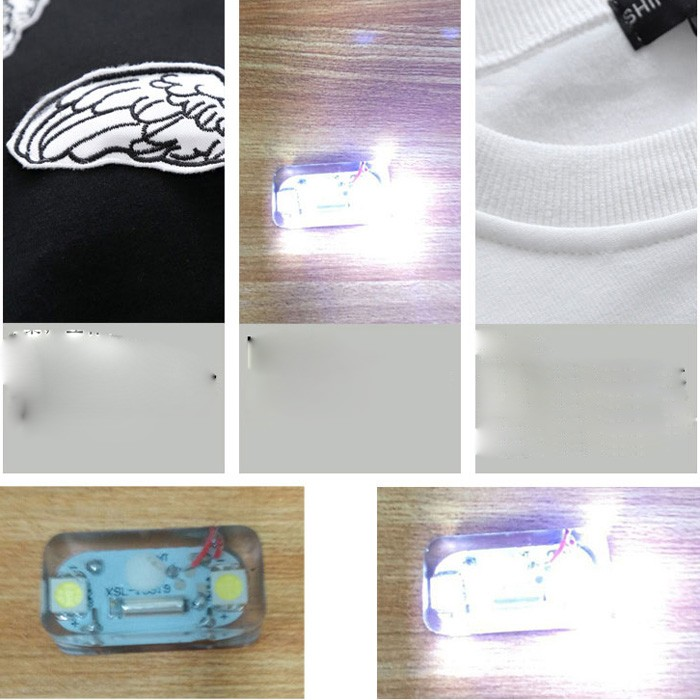 Hot Selling Touch Activate LED Glow Hoodie Factory LED Hoodie