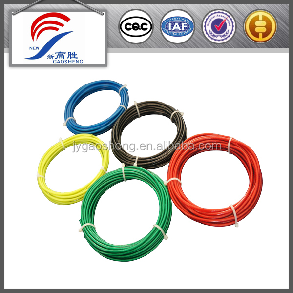 pvc coated wire rope for safety system