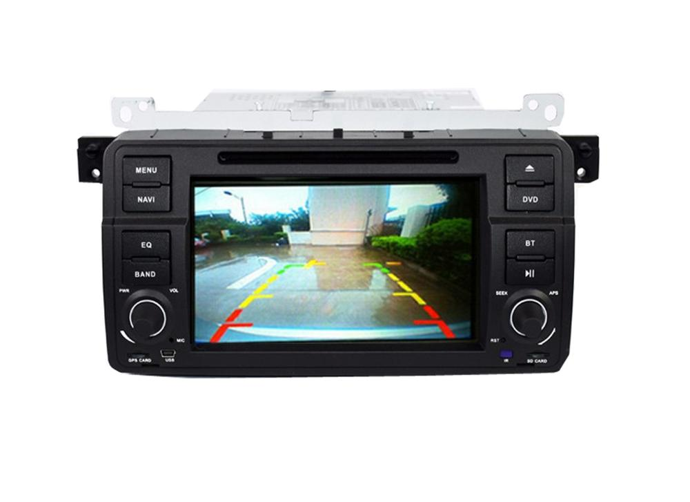 "7"" Digtal HD Autoradio gps navigation for bmw e46 dvd M3 3G GPS Bluetooth Radio RDS USB SD Steering wheel Control Canbus"