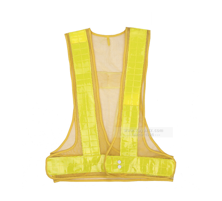 polyester safety vest with reflector
