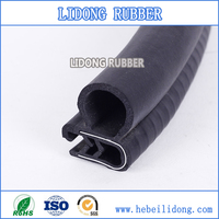 Universal Boat Windshield Rubber Seal With Filler Strip