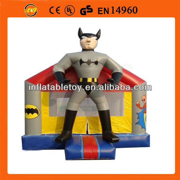 batman inflatable bouncer, inflatable bouncer jumping