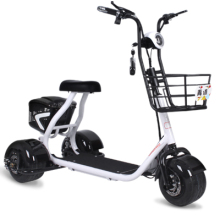 New electric scooter for old and disabled Hot sale 3 wheel tricycle 48v single seat trike electric tricycle for adult