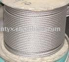 hot dipped galvanized aircraft steel wire rope