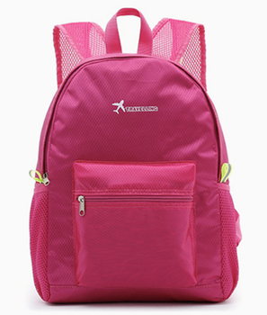 Four Colors foldable travel backpack